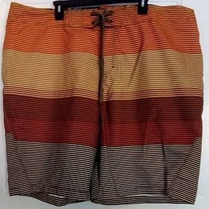 Old Navy striped Board Shorts
